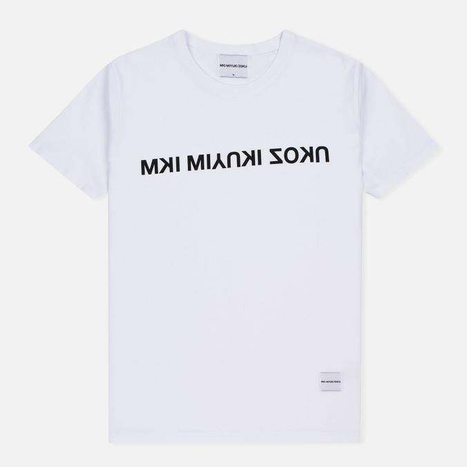 Мужская футболка MKI Miyuki-Zoku Mix Logo White