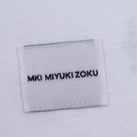 Мужская футболка MKI Miyuki-Zoku Mix Logo White фото- 3