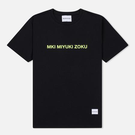 Мужская футболка MKI Miyuki-Zoku Neon Logo Black