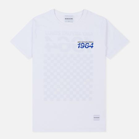 Мужская футболка MKI Miyuki-Zoku Racing White
