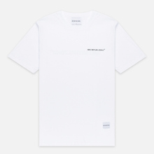 Мужская футболка MKI Miyuki-Zoku Registered Logo White фото- 0