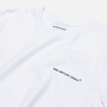 Мужская футболка MKI Miyuki-Zoku Registered Logo White фото- 1