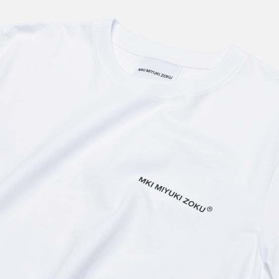 Мужская футболка MKI Miyuki-Zoku Registered Logo White