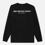 Мужской лонгслив MKI Miyuki-Zoku Spring Summer 17 Black фото- 4