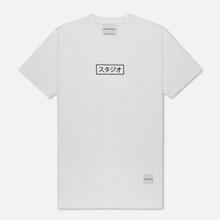 Мужская футболка MKI Miyuki-Zoku Studio Box White фото- 0