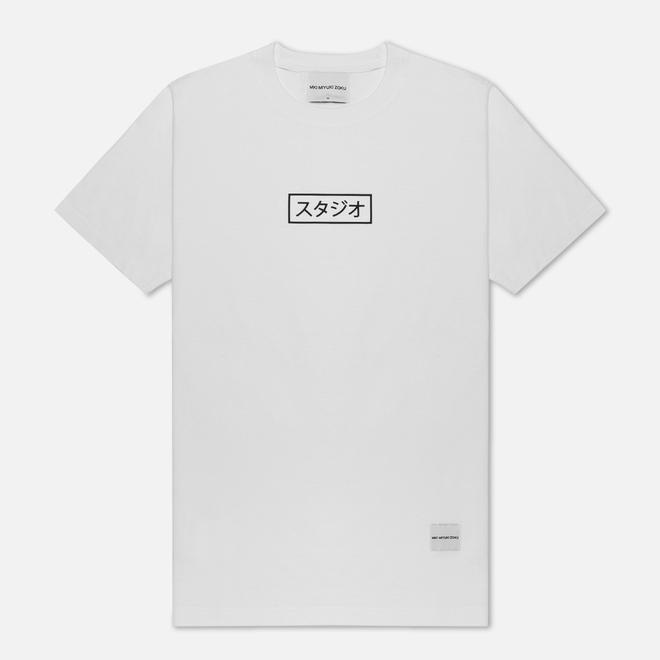 Мужская футболка MKI Miyuki-Zoku Studio Box White