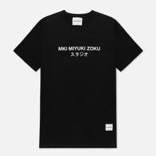 Мужская футболка MKI Miyuki-Zoku Studio Classic Logo Black фото- 0
