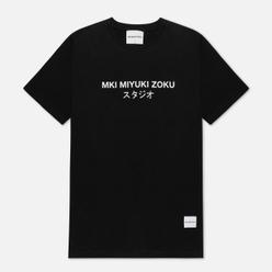 Мужская футболка MKI Miyuki-Zoku Studio Classic Logo Black