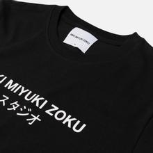 Мужская футболка MKI Miyuki-Zoku Studio Classic Logo Black фото- 1