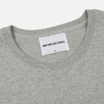 Мужская футболка MKI Miyuki-Zoku Studio Classic Logo Grey фото- 1
