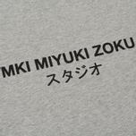 Мужская футболка MKI Miyuki-Zoku Studio Classic Logo Grey фото- 2
