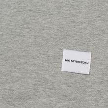 Мужская футболка MKI Miyuki-Zoku Studio Classic Logo Grey фото- 3