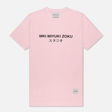 Мужская футболка MKI Miyuki-Zoku Studio Classic Logo Pink фото- 0