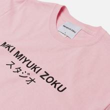 Мужская футболка MKI Miyuki-Zoku Studio Classic Logo Pink фото- 1