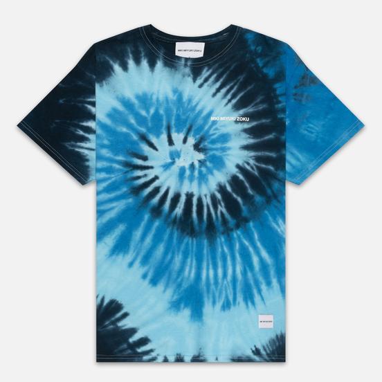 Мужская футболка MKI Miyuki-Zoku Tie Dye Deep Sea