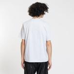 Мужская футболка MSGM Box Logo Grey/Black фото- 2
