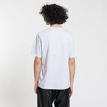 Мужская футболка MSGM Micro Logo Grey/Black фото- 2