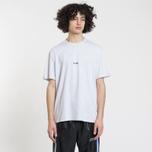 Мужская футболка MSGM Micro Logo Grey/Black фото- 1