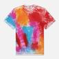 Мужская футболка MSGM Multicolor Brush Stroke Optical White фото - 0
