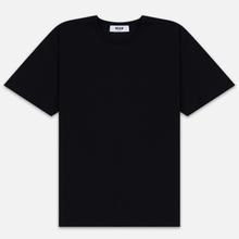 Мужская футболка MSGM Scoop Neck Back Print Black фото- 0