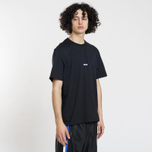 Мужская футболка MSGM Shiro And Logo Print Black фото- 2