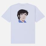 Мужская футболка MSGM Shiro And Logo Print White фото- 1