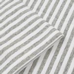 Мужская футболка Nanamica Coolmax St. Jersey Heather Grey/White фото- 2