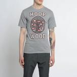 Мужская футболка Nanamica Loopwheel Coolmax Graphic Heather Grey фото- 4