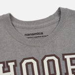 Мужская футболка Nanamica Loopwheel Coolmax Graphic Heather Grey фото- 1