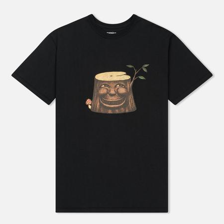 Мужская футболка Nanamica Loopwheel Coolmax Graphic Keep Woods Black