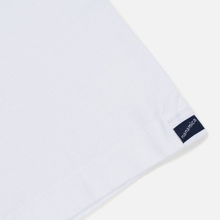 Мужская футболка Nanamica Nanamican H/S Graphic 2 White фото- 3