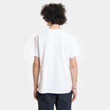 Мужская футболка Nanamica Nanamican Logo White фото- 3