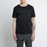 Мужская футболка Nanamica Wind Crew Neck Black фото- 5