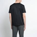 Мужская футболка Nanamica Wind Crew Neck Black фото- 6