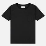 Мужская футболка Nanamica Wind Crew Neck Black фото- 0