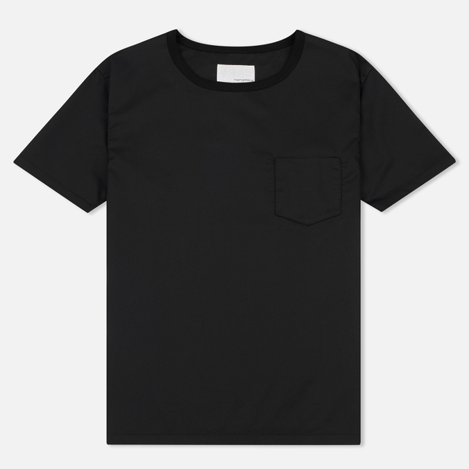 Мужская футболка Nanamica Wind Crew Neck Black