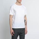 Мужская футболка Nanamica Wind Crew Neck White фото- 5