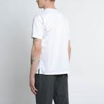 Мужская футболка Nanamica Wind Crew Neck White фото- 6
