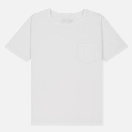 Мужская футболка Nanamica Wind Crew Neck White