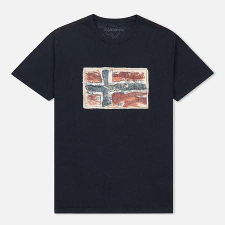 Мужская футболка Napapijri Sachs SS Blue Marine
