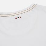 Мужская футболка Napapijri Sachs SS Bright White фото- 3
