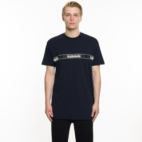 Мужская футболка Napapijri Sagar Blue Marine
