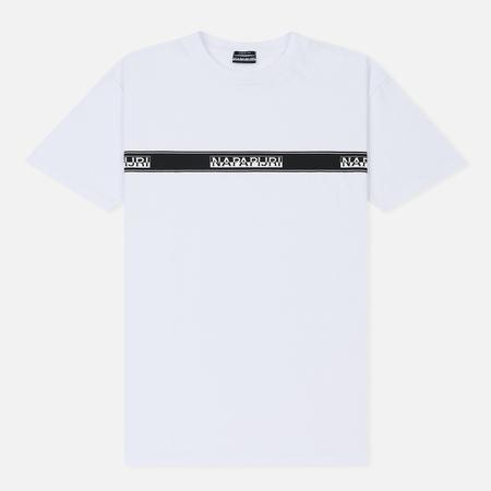Мужская футболка Napapijri Sagar SP Bright White