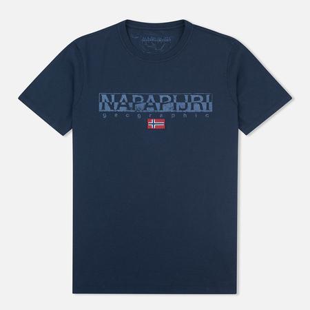 Мужская футболка Napapijri Sapriol Blue Marine
