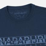 Мужская футболка Napapijri Sapriol Blue Marine фото- 1