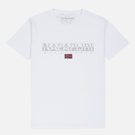 Мужская футболка Napapijri Sapriol Short A Bright White