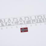 Мужская футболка Napapijri Sapriol Short A Bright White фото- 2