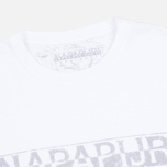 Мужская футболка Napapijri Sapriol Short A Bright White фото- 1