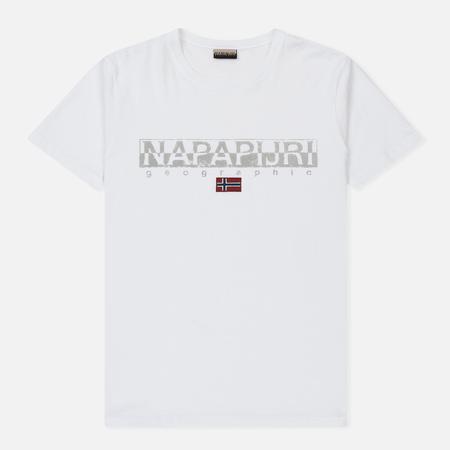 Мужская футболка Napapijri Sapriol SS 1 Bright White