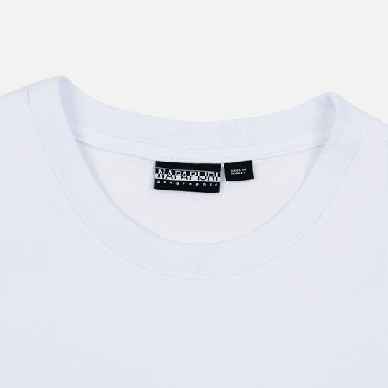 Мужская футболка Napapijri Sase Bright White